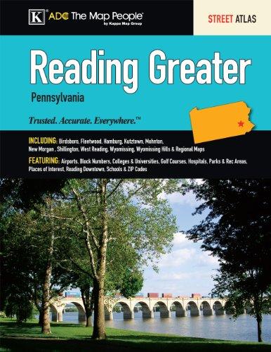 9780762581269: Reading & Berks Co, PA Street Atlas