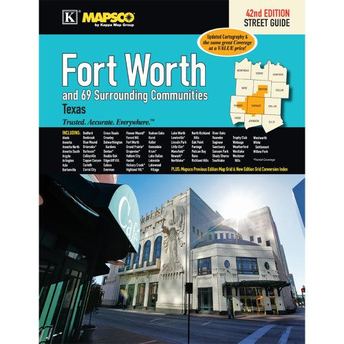 9780762581627: Fort Worth, TX Street Guide