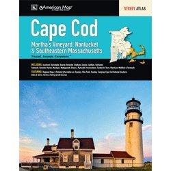 9780762581863: Cape Cod, Martha s Vineyard, Nantucket & Southeastern Massachusetts Street Atlas