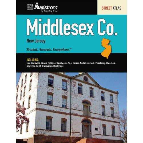 9780762582143: Middlesex County, NJ Street Atlas