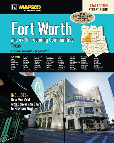9780762583300: Fort Worth, TX Street Guide