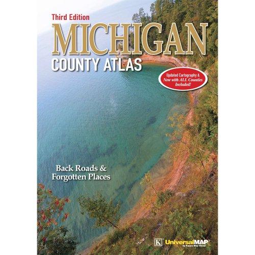 9780762583317: Michigan County Atlas - Third Edition