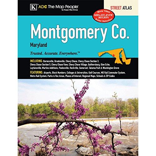 9780762585656: Montgomery County, Maryland Street Atlas