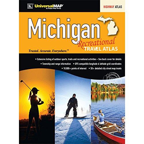9780762585700: Michigan Recreational Travel Atlas