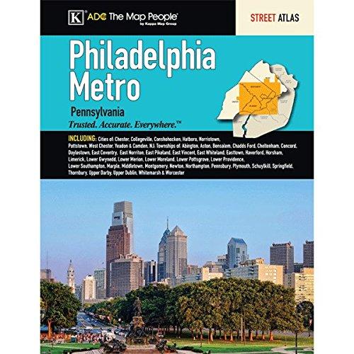 9780762585953: Philadelphia Metro Pennsylvania Street Atlas