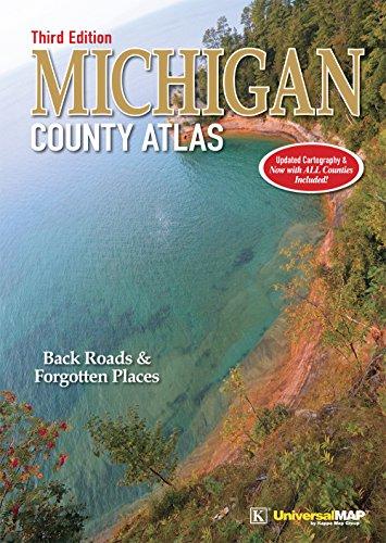 9780762587629: Michigan County Atlas