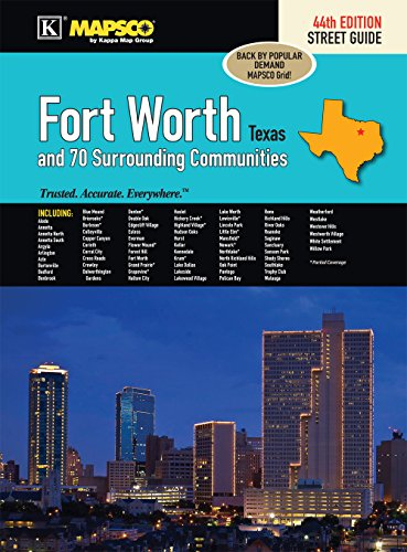 9780762588176: Fort Worth, TX Street Guide