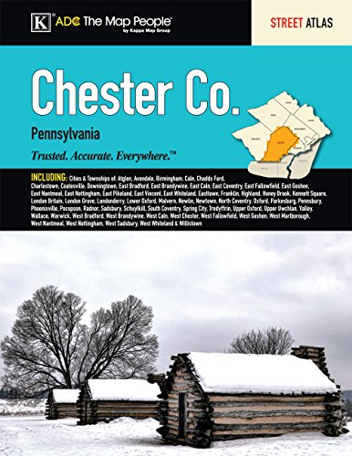 9780762588565: Chester County, PA Street Atlas