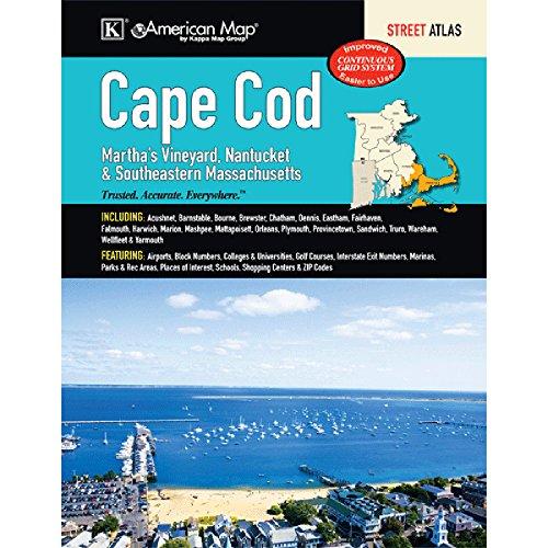 9780762588824: Cape Cod, Martha s Vineyard, Nantucket & Southeastern Massachusetts Street Atlas