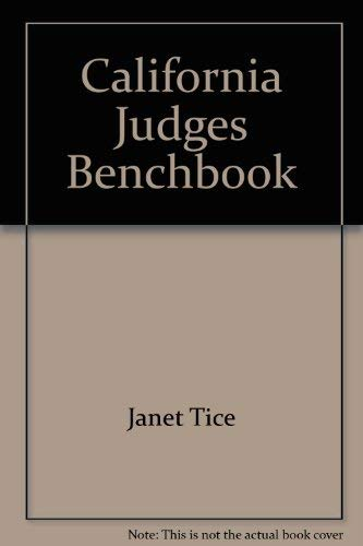 California Judges Benchbook / Search & Seizure / 2nd Edition: George Brunn