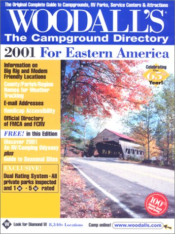 9780762708581: Woodall's the Campground Directory: For Eastern America 2001