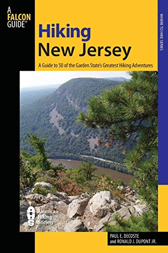 9780762711192: Hiking New Jersey: A Guide to 50 of the Garden State's Greatest Hiking Adventures (Falcon Guides)