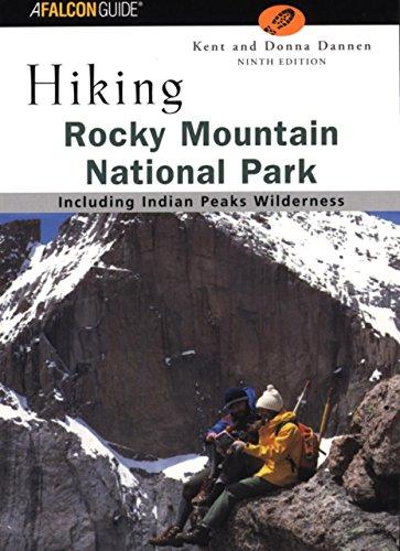 9780762722457: Hiking Rocky Mountain National Park, 9th (Regional Hiking Series)