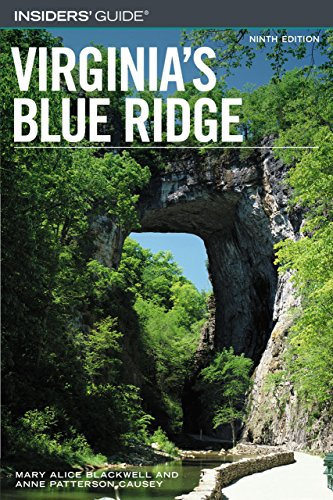9780762734603: Insiders' Guide® to Virginia's Blue Ridge (Insiders' Guide Series)