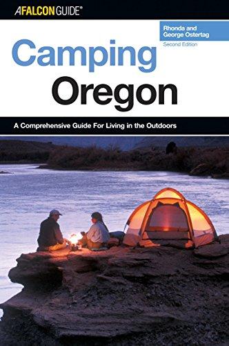 9780762736430: Camping Oregon, 2nd (Regional Camping Series)