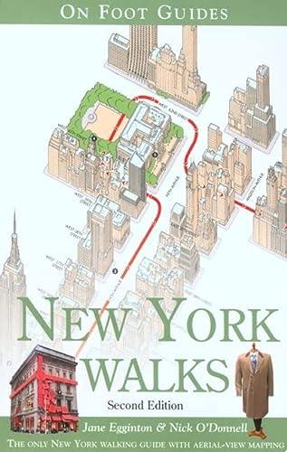 9780762741625: New York Walks (On Foot Guides) [Idioma Inglés]