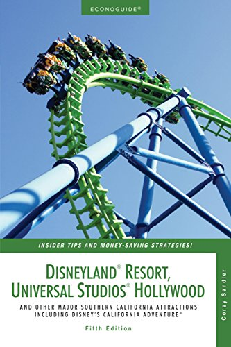 9780762741670: Econoguide Disneyland Resort, Universal Studios Hollywood, 5th: And Other Major Southern California Attractions Including Disney's California Adventure (Econoguide Series)