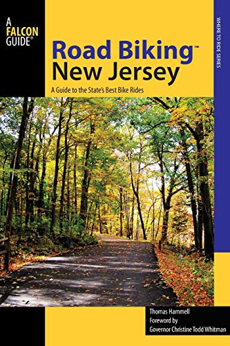 9780762742882: Falcon Guide Road Biking New Jersey: A Guide to the State's Best Bike Rides