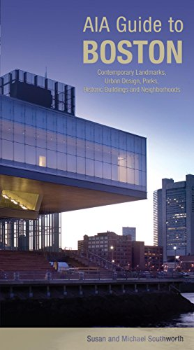 9780762743377: AIA Guide to Boston: Contemporary Landmarks, Urban Design, Parks, Historic Buildings and Neighborhoods (AIA Guides)