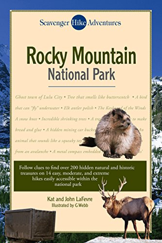 9780762744671: Scavenger Hike Adventures: Rocky Mountain National Park