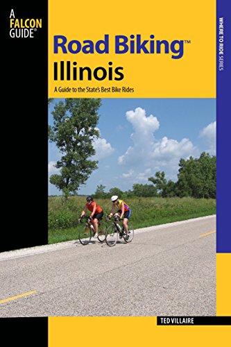 9780762746880: Road Biking™ Illinois: A Guide To The State's Best Bike Rides (Road Biking Series)