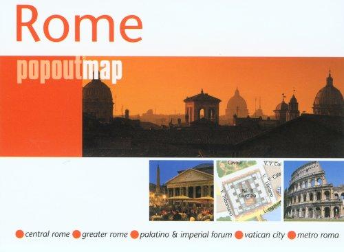 9780762749577: Compass Maps Rome Popoutmap