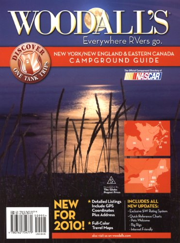 9780762754779: Woodall's New York, New England & Eastern Canada Campground Guide, 2010