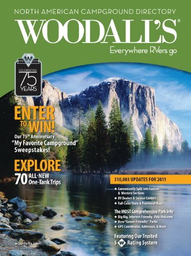 9780762761357: Woodall's North American Campground Directory