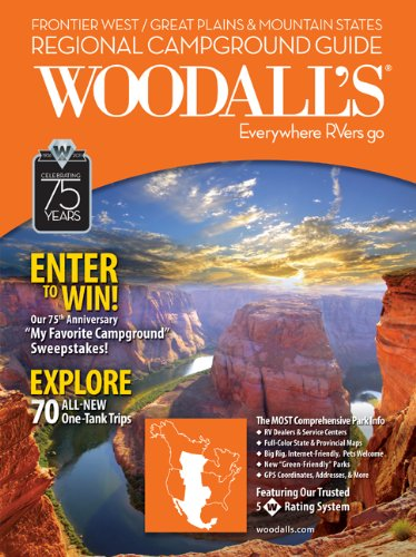 9780762761401: Woodall's Frontier West/Great Plains & Mountain Region Campground Guide, 2011