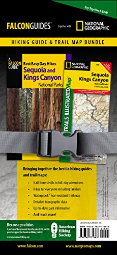 9780762771363: Best Easy Day Hiking Guide and Trail Map Bundle: Sequoia and Kings Canyon National Park (Best Easy Day Hikes Series)