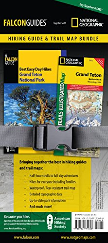 9780762771608: Best Easy Day Hiking Guide and Trail Map Bundle: Grand Teton National Park (Best Easy Day Hikes Series)