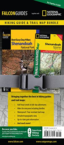 9780762771615: Best Easy Day Hiking Guide and Trail Map Bundle: Shenandoah National Park (Best Easy Day Hikes Series)