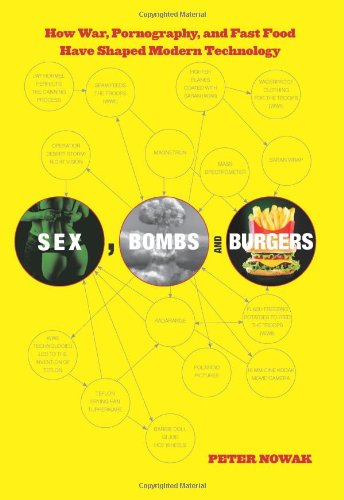 9780762772742: Sex, Bombs, and Burgers: How War, Pornography, and Fast Food Have Shaped Modern Technology