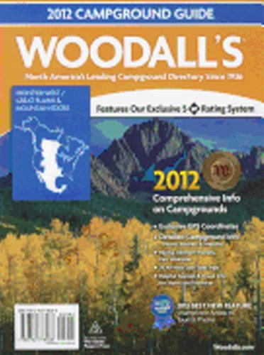 9780762778188: Woodall's 2012 Frontier West/Great Plains & Mountain States Campground Guide