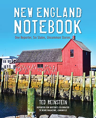 [signed] New England Notebook - One Reporter, Six States, Uncommon Stories 9780762778416 Looking to buy some medieval armour? In the mood for an orchestra of typewriters? Perhaps you'd like to sift through handcrafted cashmer