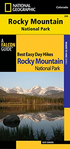 9780762797516: Best Easy Day Hiking Guide and National Geographic Trails Illustrated Topographic Map Rocky Mountain National Park