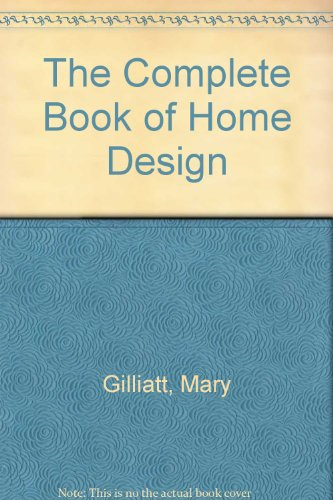 9780762843145: The Complete Book of Home Design