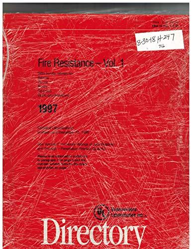 Fire Resistance Directory 1997 (2 Vol Set)