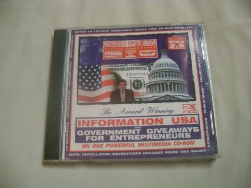Information USA & Government Giveaways, 2.5 Special Edition for Windows (0763000264) by Matthew Lesko