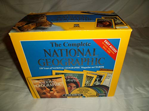 9780763026974: The Complete National Geographic: 110 Years of National Geographic Magazine on CD-ROM