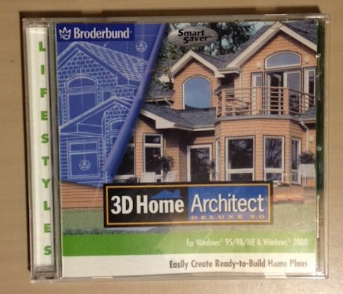 9780763065072: 3D Home Architect (Deluxe 3.0, for Windows 95/98/ME & Windows 2000)