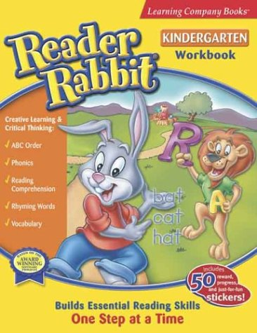 Reader Rabbit Kindergarten (Reader Rabbit Giant Workbooks) (0763075426) by Learning Company Books