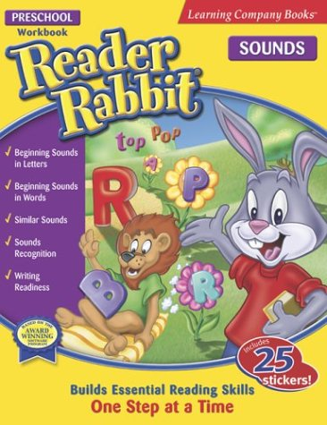 Reader Rabbit Sounds: Preschool (Reader Rabbit Workbook) (0763075760) by Learning Company Books