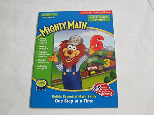 Mighty Math Multiplication & Division (0763076317) by Learning Company Books