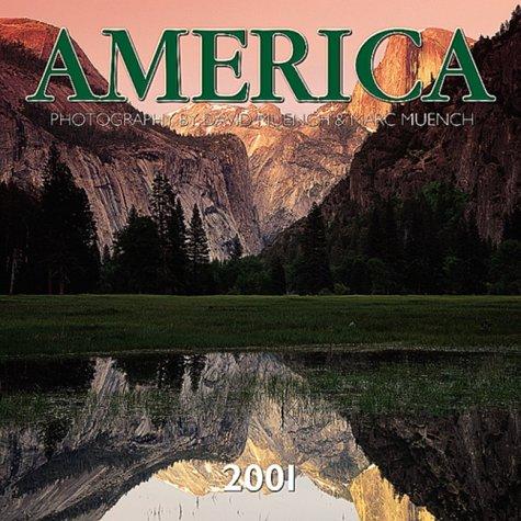 9780763126520: America 2001 Calendar: 16 Month