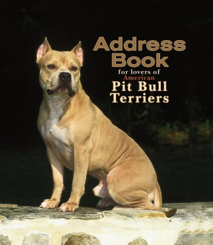 American Pit Bull Terriers Address Book