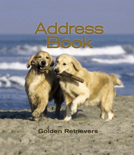 9780763197605: Golden Retrievers Address Book