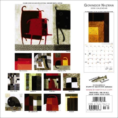 9780763198176: Govinder Nazran 2006 Calendar