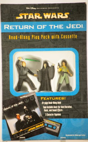 9780763401962: Star Wars: Return of the Jedi (Boxed Play Pack with Book, Cassette, & 3 Character Figurines)