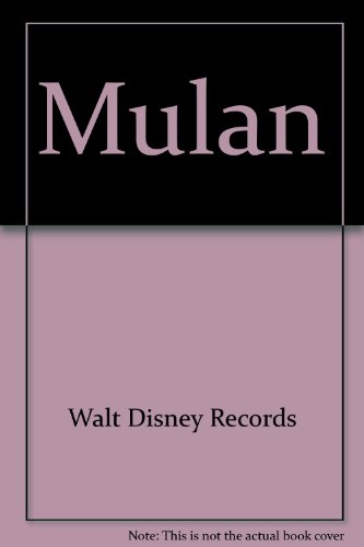 Mulan (9780763404109) by Walt Disney Records